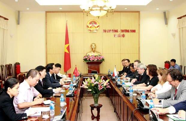 加强越南与捷克劳务合作 hinh anh 1
