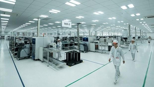Vingroup集团年产量1.25亿台的智能手机生产厂动工兴建 hinh anh 1