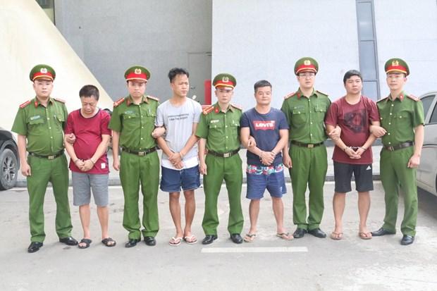 越南警方向中国警方移交4名中国籍通缉在逃犯 hinh anh 2