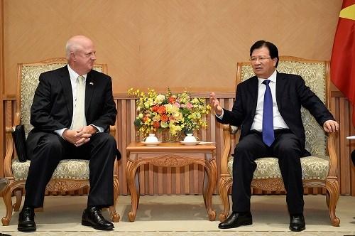 美国汉佰集团领导希望扩大对越合作 hinh anh 1