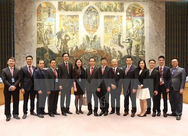 越南与联合国安理会:肯定越南在国际舞台上的威望 hinh anh 1