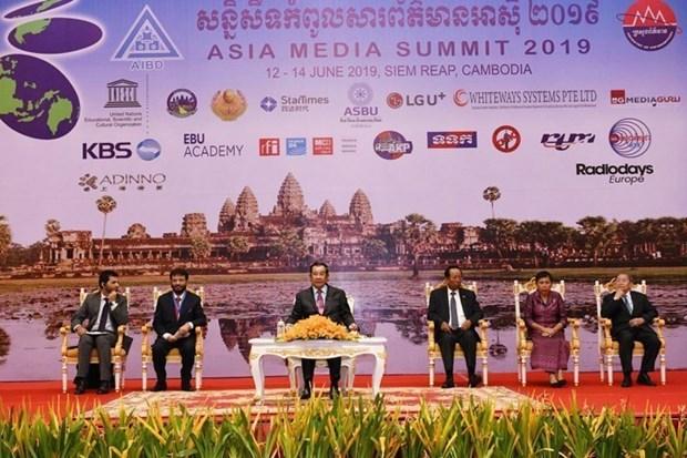 第16届亚洲媒体峰会在柬埔寨拉开序幕 hinh anh 2