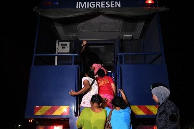 马来西亚制定总体计划解决非法移民问题 hinh anh 1