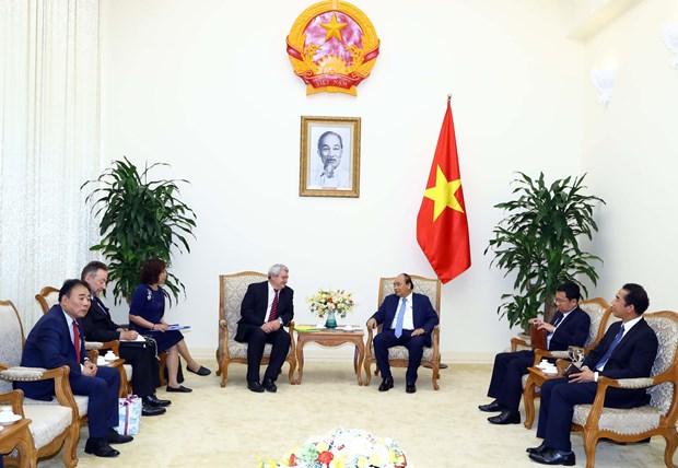 越南政府总理阮春福会见捷克众议院副议长菲利普 hinh anh 2