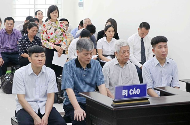 Vinashin前董事长阮玉事涉嫌滥用职权被建议判处18至20年有期徒刑 hinh anh 1