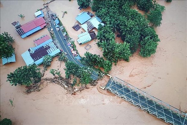 印尼多地遭受洪水和泥石流灾害 hinh anh 1