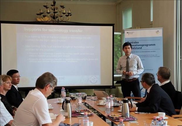 越德两国中小型企业将参加创新计划 hinh anh 2