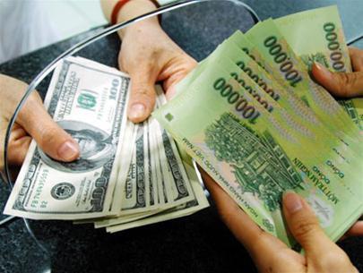 6月13日越盾兑美元中心汇率上涨4越盾 hinh anh 1