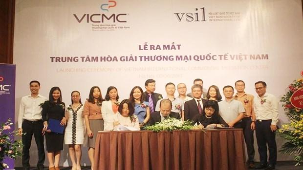 越南国际商事调解中心正式亮相 hinh anh 1