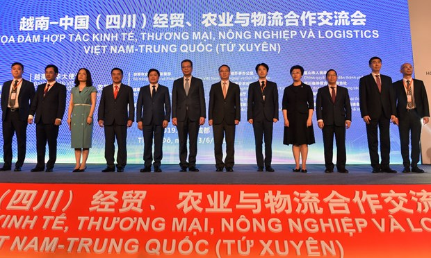 越中加强经贸、农业与物流合作 hinh anh 1