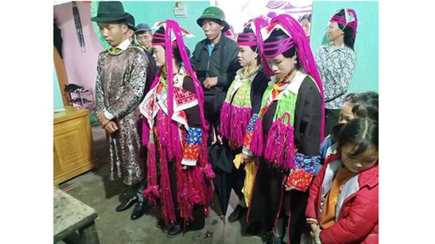 越南青衣瑶族的婚俗 hinh anh 2