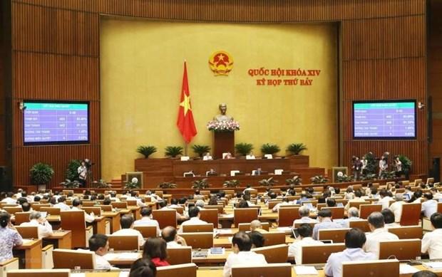 越南第十四届国会第七次会议进入最后一天的议程 hinh anh 1