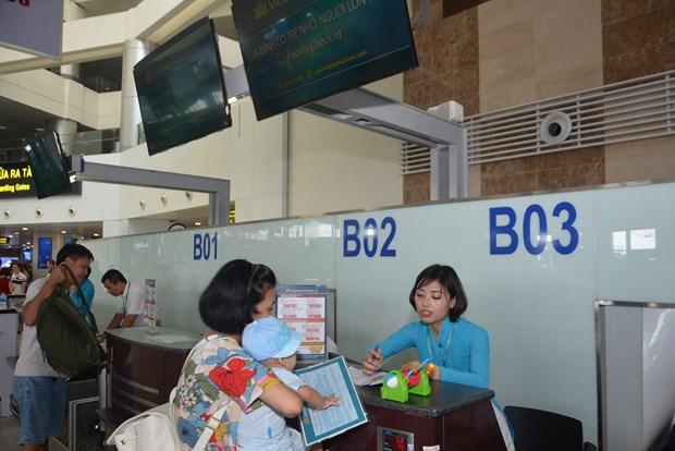 越航为老年人和儿童设值优先办理登记手续的专柜 hinh anh 1