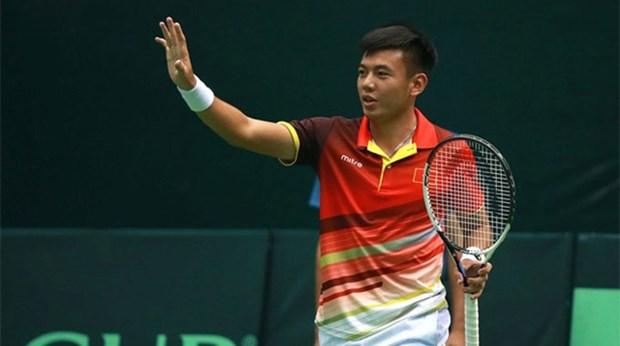 越南男子网球队力争晋级戴维斯杯亚洲及大洋洲区第二组 hinh anh 1