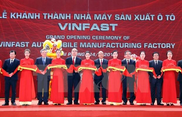阮春福总理:希望VinFast的产品带有越南烙印和特色 hinh anh 1