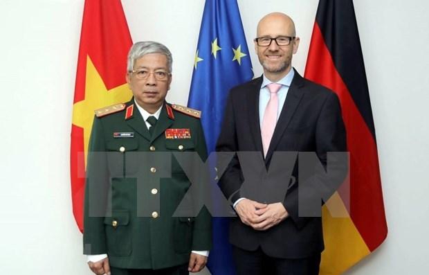 德国与越南加强防务合作 hinh anh 1
