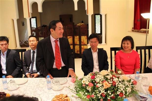 越共中央宣教部部长武文赏访问摩洛哥 hinh anh 2