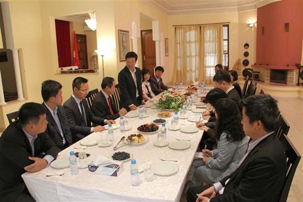 越共中央宣教部部长武文赏访问摩洛哥 hinh anh 1