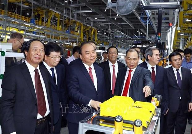 阮春福总理:希望VinFast的产品带有越南烙印和特色 hinh anh 2