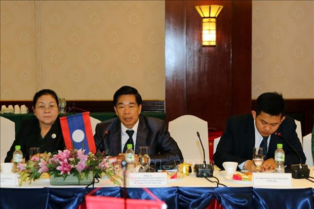 胡志明市与老挝首都万象促进全面合作 hinh anh 3