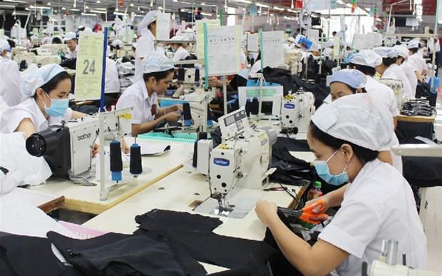 越南从中国的布料进口额猛增 hinh anh 1