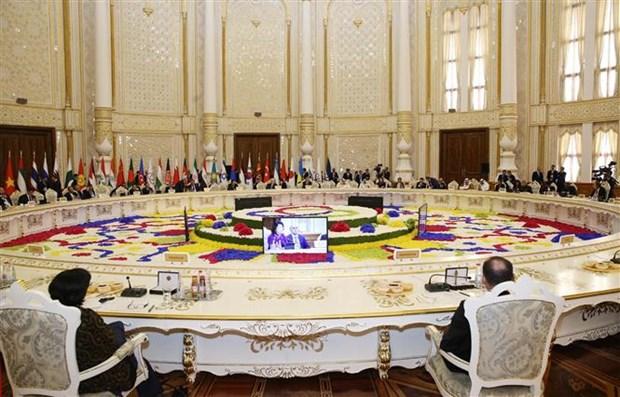 越南国家副主席邓氏玉盛出席亚洲相互协作与信任措施会议第五次峰会 hinh anh 3