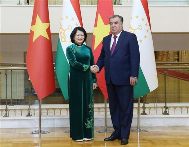 越南国家副主席邓氏玉盛出席亚洲相互协作与信任措施会议第五次峰会 hinh anh 1
