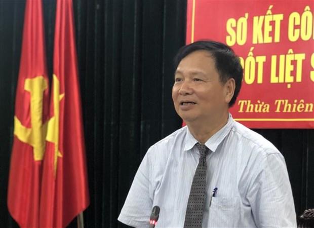 大力推进在老挝越南志愿军烈士遗骸收迁工作 hinh anh 2