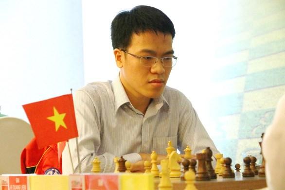 越南选手黎光廉首次夺得亚洲象棋冠军 hinh anh 1