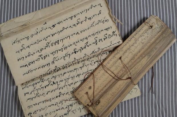 平顺省占族同胞保护本民族语言和文字 hinh anh 1