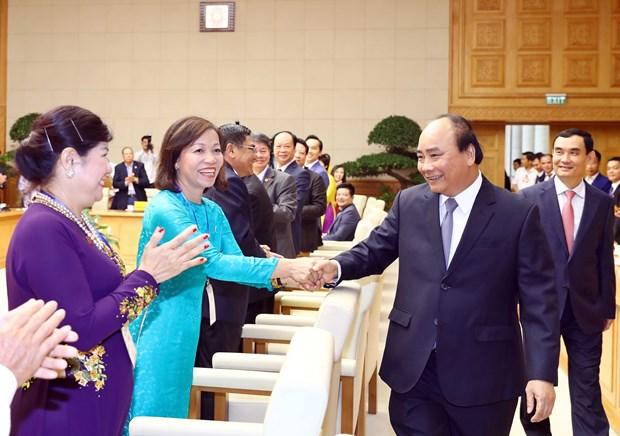 阮春福总理:私营经济仍然拥有巨大的发展余地 hinh anh 2