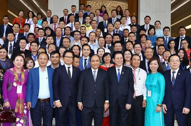阮春福总理:私营经济仍然拥有巨大的发展余地 hinh anh 1