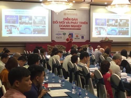 企业创新与发展论坛在河内举行 hinh anh 1