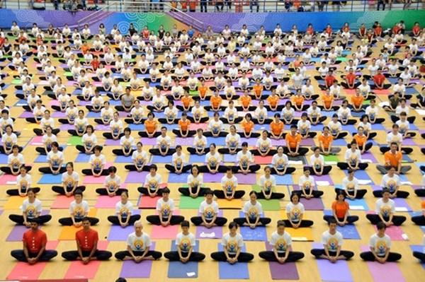 第五届国际瑜伽日—致力于绿色生活的瑜伽 hinh anh 1