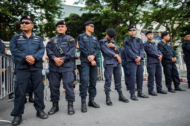 泰国警方将部署近万名警力保障东盟峰会安全 hinh anh 1