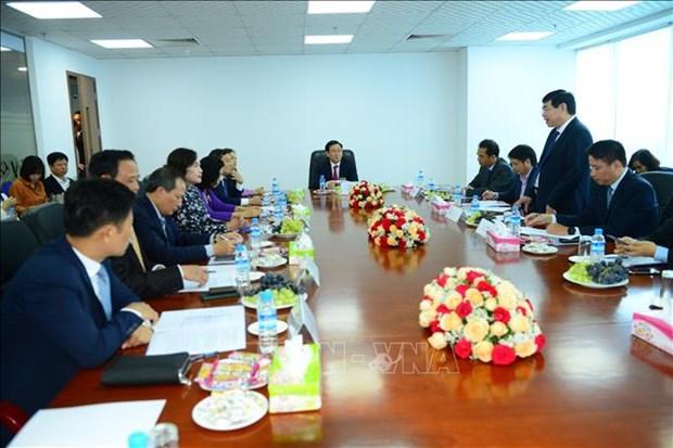 越南政府副总理王廷惠会见缅甸计划和财政部部长梭温 hinh anh 1