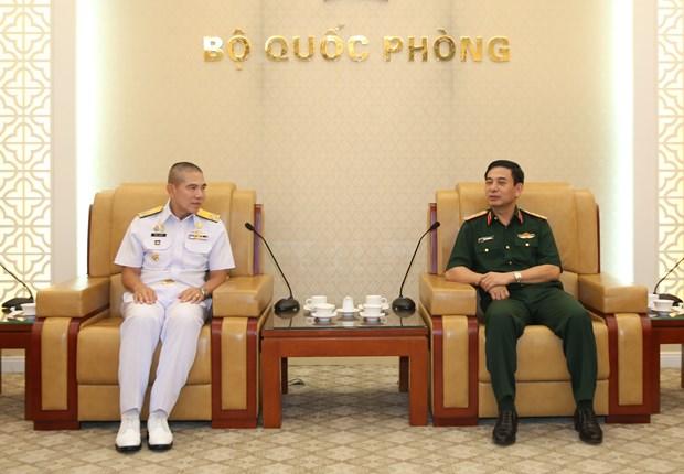 越泰两国军队加强海事安全合作 hinh anh 1