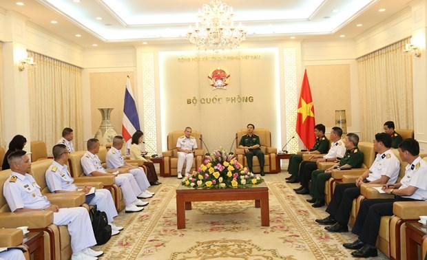 越泰两国军队加强海事安全合作 hinh anh 2
