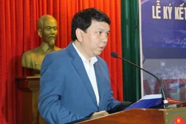 越南与德国展开合作 推动足球发展 hinh anh 2