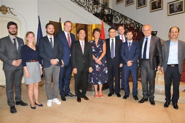 欧洲企业支持早日同越南签署自由贸易协定 hinh anh 2