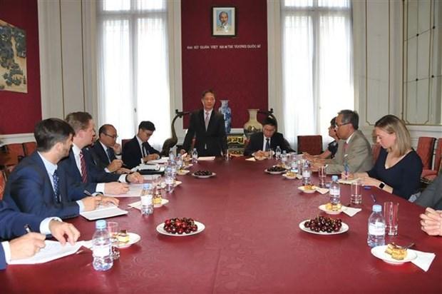 欧洲企业支持早日同越南签署自由贸易协定 hinh anh 1