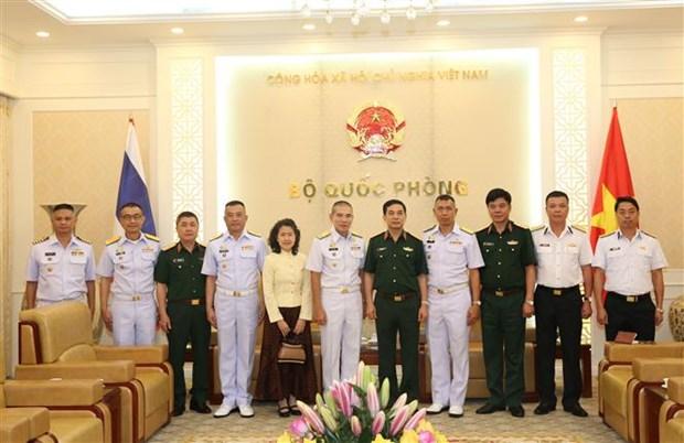 越南和泰国军队加强海上联合巡逻 hinh anh 2