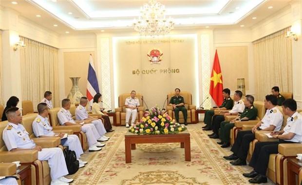 越南和泰国军队加强海上联合巡逻 hinh anh 1
