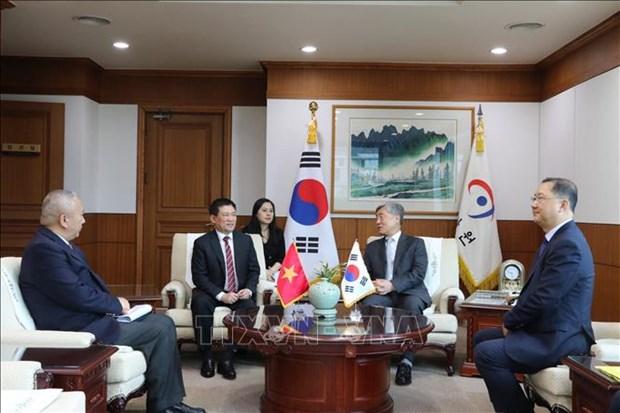 越南与韩国两国审计机关加强合作 hinh anh 1
