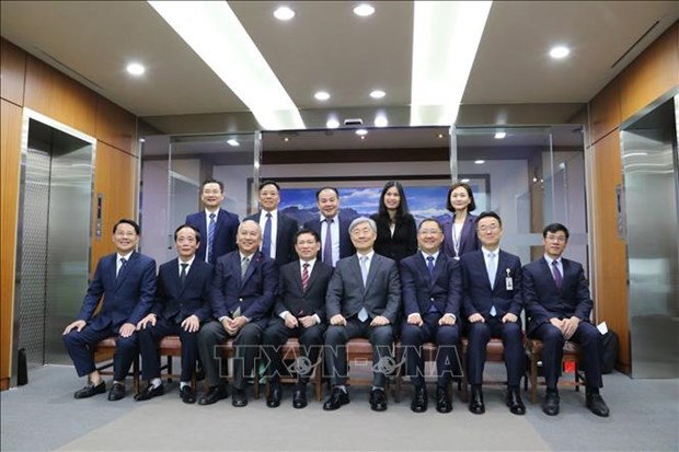 越南与韩国两国审计机关加强合作 hinh anh 2