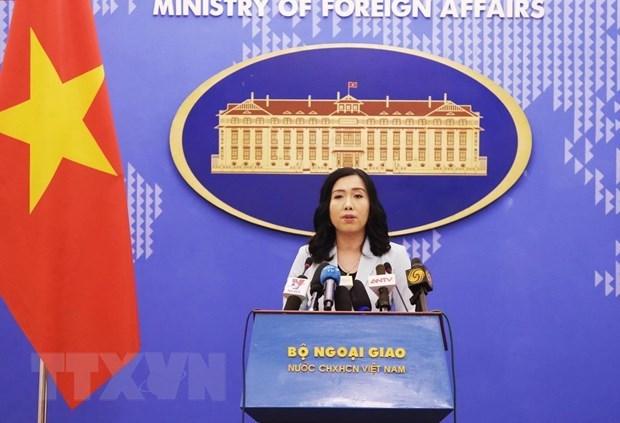 越南要求中国给越南渔民给予适当的赔偿 hinh anh 1