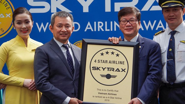 越航连续第四年荣获四星级航空公司认证 hinh anh 1