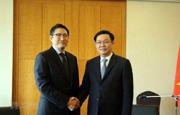 越南为韩国企业扩大在越投资范围创造便利条件 hinh anh 1