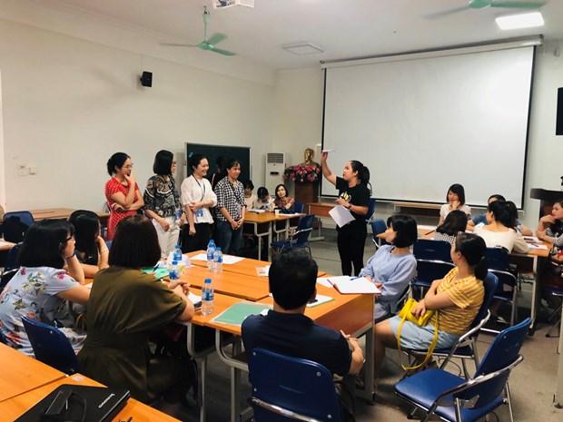 东南亚各国教师相互分享教学经验 hinh anh 2