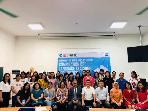 东南亚各国教师相互分享教学经验 hinh anh 1